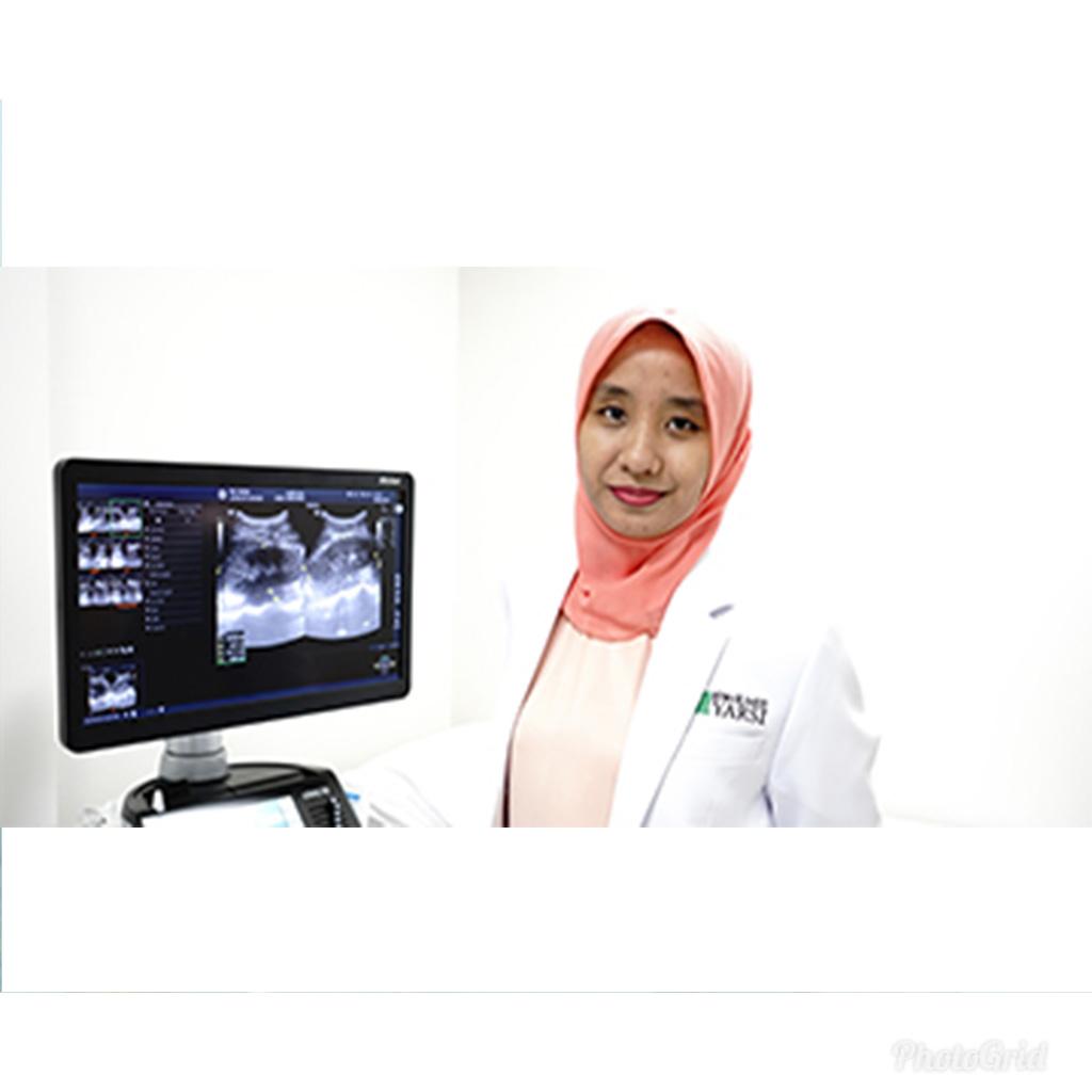dr. Tia Bonita, Sp.Rad